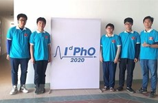 Вьетнамские школьники завоевали 5 медалей на международной олимпиаде по физике