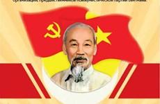 Президент Хо Ши Мин - основатель Коммунистической партии Вьетнама