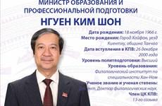 Министр образования и профессиональной подготовки Нгуен Ким Шон