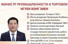 Министр промышленности и торговли Нгуен Хонг Зиен