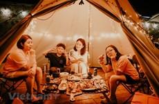 Глэмпинг - новый способ провести отпуск в Ханое