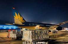Авиакомпания Vietnam Airlines завершила самый длинный рейс по перевозке вакцин