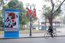 Ханой приветствует XIII Национальный съезд КПВ