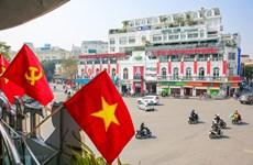 Ханой «переоделся», чтобы приветствовать XIII Всевьетнамский съезд КПВ