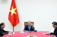 Вьетнамские и японские премьеры провели телефонные переговоры