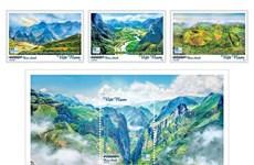 Выпущена коллекция марок трех глобальных геопарков во Вьетнаме