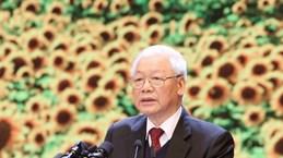 Выступление Генерального секретаря ЦК КПВ, Президента СРВ на церемонии празднования 90-летия со дня основания КПВ