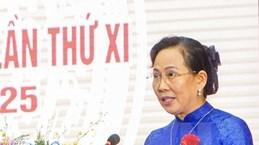 Ле Тхи Тхуи переизбрана секретарем провинциального партийного комитета Ханама