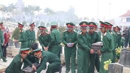 Останки вьетнамских солдат-добровольцев, погибших в Лаосе, перезахоронены во Вьетнаме