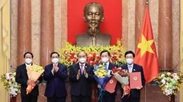 Президент государства Нгуен Суан Фук принял решение о назначении членов правительства на срок 2021-2026 гг.