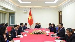 Премьер-министр провел телефонные переговоры с президентом США