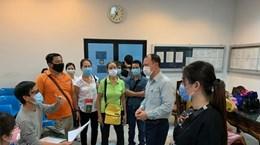 Посольство помогло вьетнамским гражданам в Таиланде вылететь домой