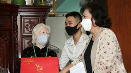 Председатель НС нанесла визит вьетнамским матерям-героиням в городе Хошимин