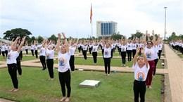 Международный день йоги отмечается в Ниньтуане и Тханьхоа