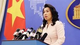 Официальный представитель МИД: Хоангша и Чыонгша - неотделимые части Вьетнама