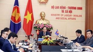 Министры АСЕАН обсуждали влиянии COVID-19 на труд и занятость