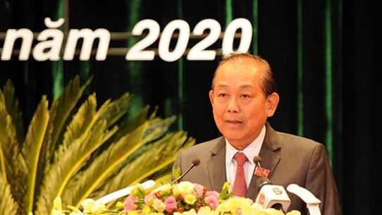 Заместитель премьер-министра принял участие в 22-ой конференции партийной организации Дананга