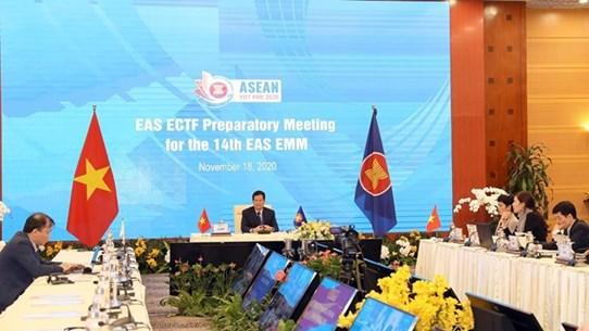 Встреча высокопоставленных официальных лиц для подготовки к 14-му совещанию министров энергетики EAS