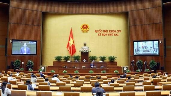 Пресс-релиз восьмого рабочего дня 2-й сессии Национального собрания 15-го созыва