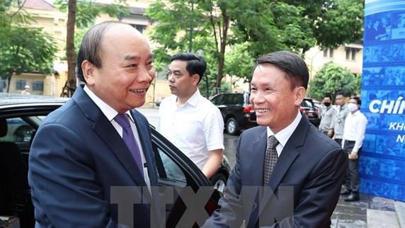 Премьер-министр принял участие в церемонии по случаю 75-летия основания Вьетнамского информационного агентства