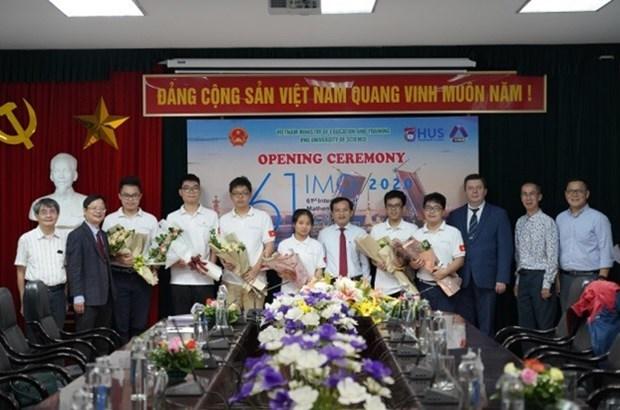 Международная олимпиада по математике 2020 - особая олимпиада в истории hinh anh 1