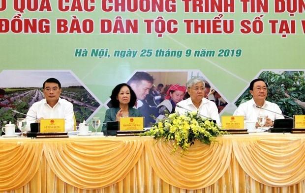 Социальная политика льготных кредитов изменила восприятие этнических меньшинств hinh anh 1