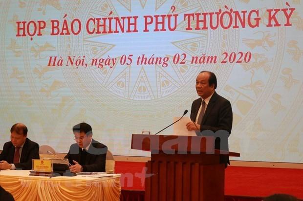 Правительство: Наити меры для компенсации снижения экономического роста в условиях эпидемии hinh anh 1