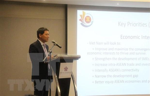 Посол подтверждает решимость Вьетнама выполнить все задачи председательства в АСЕАН 2020 hinh anh 1