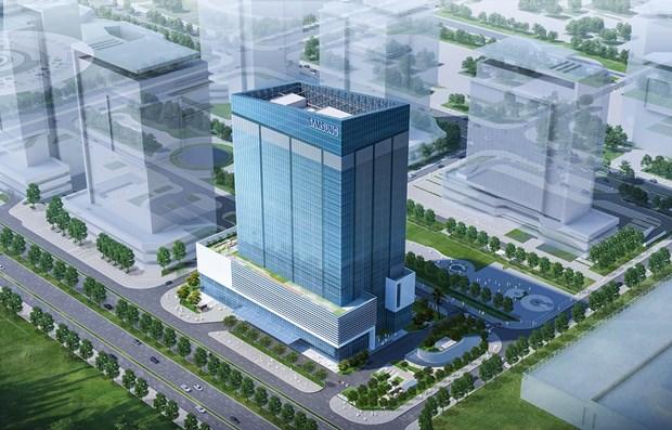 Самсунг построит в Ханое крупнеишии в Юго-Восточнои Азии центр исследовании и разработок hinh anh 1