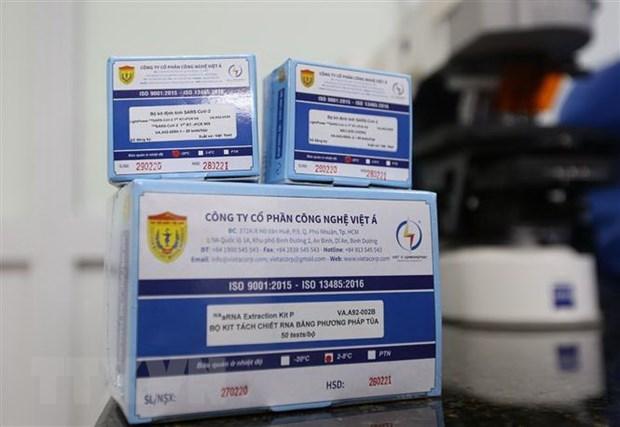 Вьетнам запускает серииное производство тест-систем на SARS-CoV2 hinh anh 1