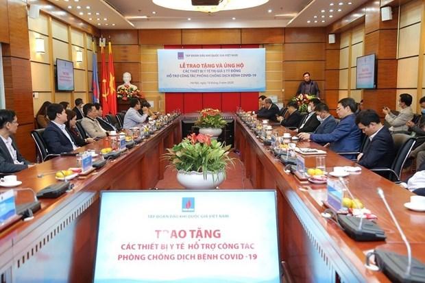 PetroVietnam оказывает помощь Министерству здравоохранения в борьбе с COVID-19 hinh anh 1