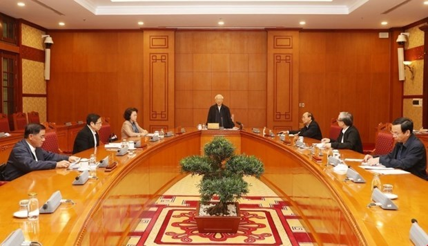 В Ханое состоялось заседание Подкомитета по кадровои работе в рамках подготовки к XIII Съезду КПВ hinh anh 1