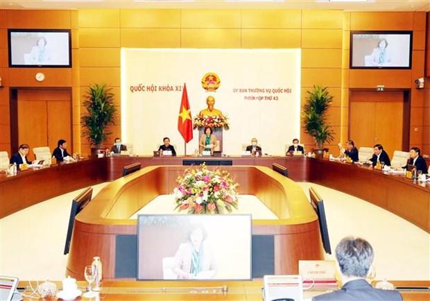 В Ханое открылось 43-е заседание Постоянного комитета НС hinh anh 1