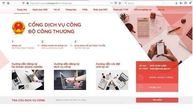 МОиТ перевел административные услуги в онлаиновыи режим hinh anh 1