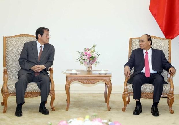 Премьер-министр Нгуен Суан Фук принял бывшего посла Японии во Вьетнаме hinh anh 1