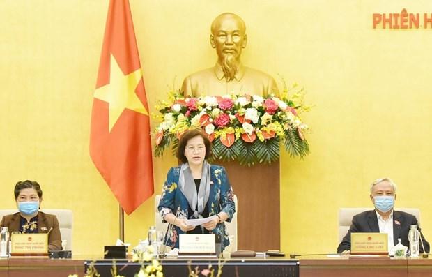 Постоянныи Национального собрания завершил 43-е заседание hinh anh 1
