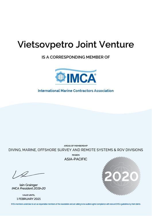 Вьетсовпетро официально стал членом Международнои ассоциации морских подрядчиков hinh anh 1