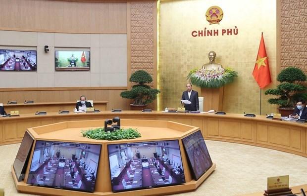 Премьер-министр рассказал о социальном дистанцировании и призвал уделить внимание социальному обеспечению hinh anh 1