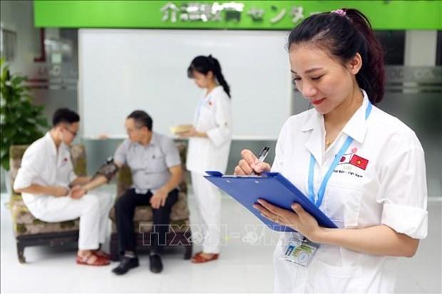 Япония скорректирует график приема вьетнамских практикантов из-за COVID-19 hinh anh 1