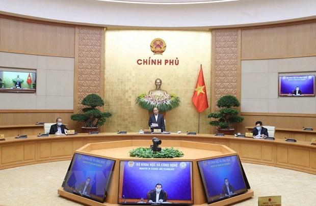 Вьетнам особо усилит меры по сдерживанию эпидемии COVID-19 в апреле hinh anh 1