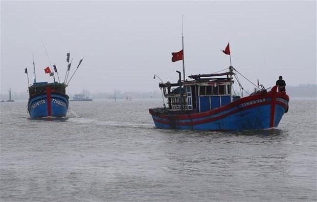 Вьетнам вручил ноту протеста Китаю в связи c затонувшим рыболовным судном hinh anh 1