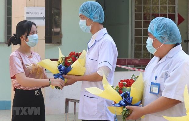 Во Вьетнаме еще 27 пациентов вылечились от COVID-19 hinh anh 1