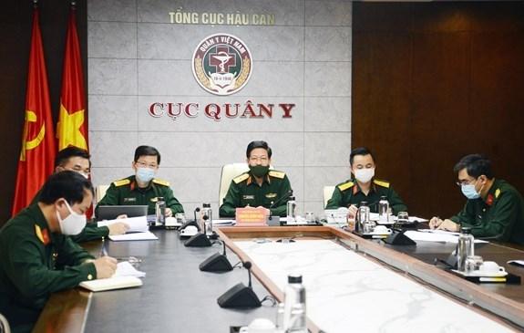 Вьетнам предлагает провести совместные учения военно-медицинских сил АСЕАН по борьбе с эпидемиями hinh anh 1