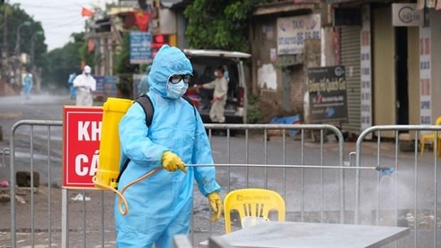 Эпидемия COVID-19 на утро 9 апреля: Не зафиксирован новыи случаи заболевания за последние 24 часа hinh anh 1
