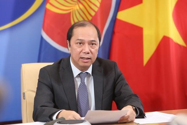 Вьетнам активно продвигает совместные усилия АСЕАН против COVID-19 hinh anh 1
