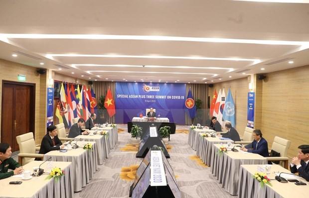 Китаискии эксперт высоко оценивает роль Вьетнама в организации саммитов АСЕАН, АСЕАН + 3 по COVID-19 hinh anh 1