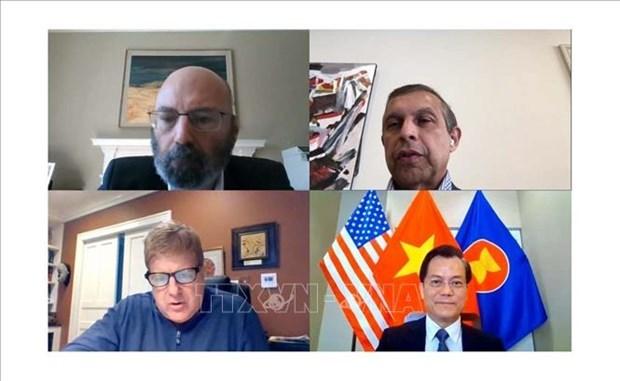 Посол призывает американские компании продолжать сотрудничество с Вьетнамом hinh anh 1