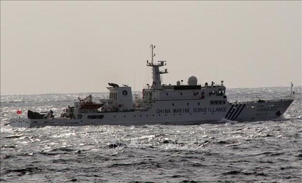 Япония обеспокоена созданием Китаем зон в Восточном море hinh anh 1