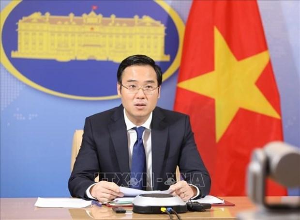 Вьетнам активно способствует поддержанию мира, стабильности, сотрудничества и развития в регионе, и мире hinh anh 1