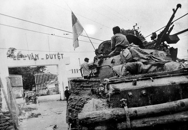 45-летия воссоединения Вьетнама: Генерал-полковник Нгуен Хюи Хьеу: Огромнеишие жертвы и потери – цена великои победы веснои 1975 года hinh anh 1